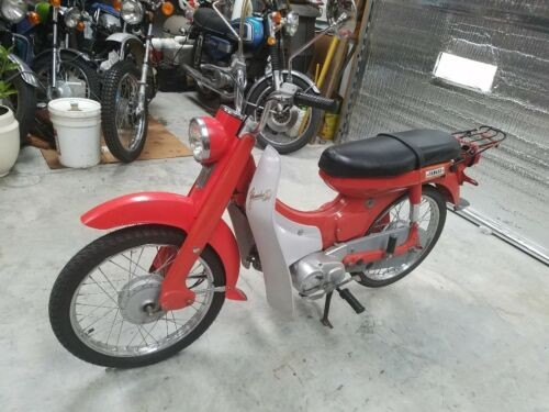 1966 Yamaha NEWPORT 50 Red photo